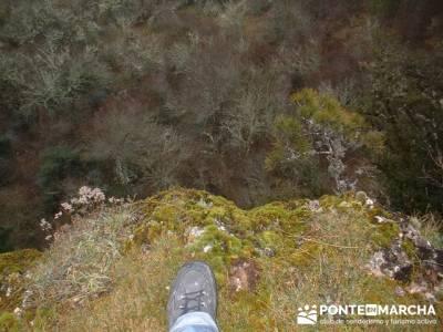 Monumento Natural de Palancares y Tierra Muerta; senderismo madrid rutas